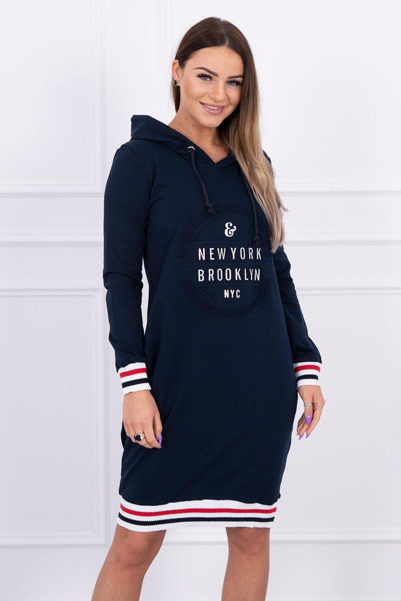 20418f49f011 Športové šaty Brooklyn námornícka modrá