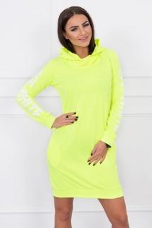 Športové šaty Off White žltý neon empty cee3b76765e