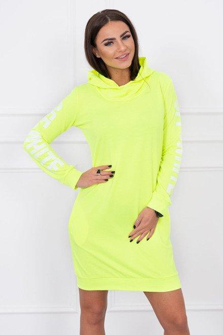 Športové šaty Off White žltý neon 8edbde452d3